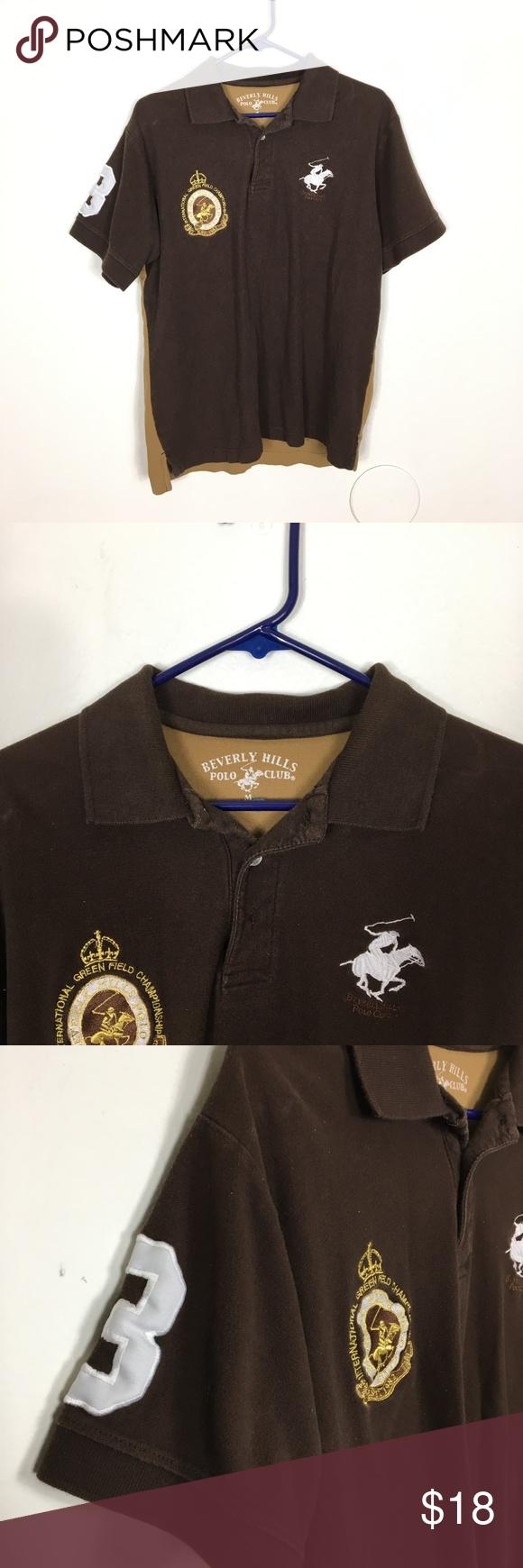 Mens M Beverly Hills Polo Club Big Pony Polo Shirt Item Men S Medium Beverly Hills Polo Club Rugby Big Pony Logo Beverly Hills Polo Club Shirts Clothes Design