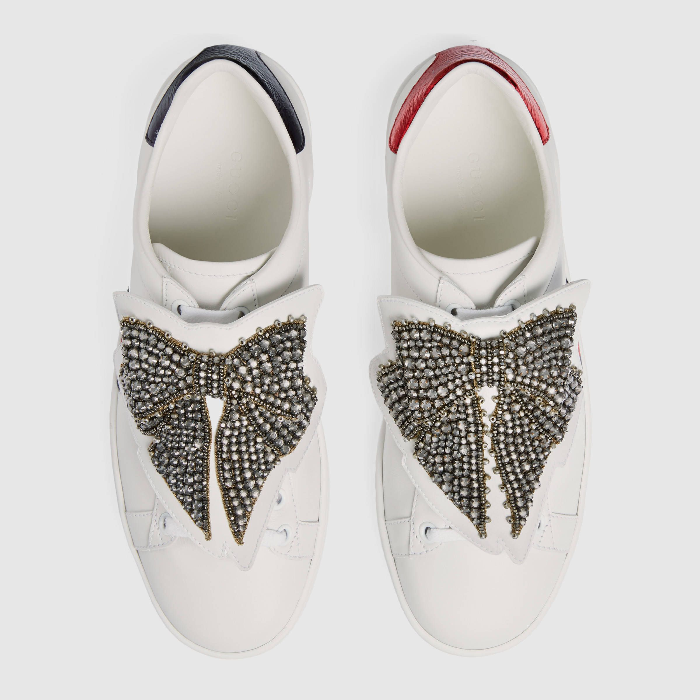 ff6d5c1d4 Gucci Ace sneaker with removable embroideries Detail 2 | SNEAKERS in ...