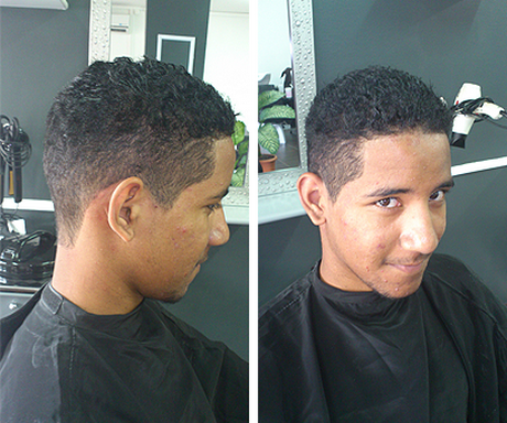 Coupe cheveux court homme metisse
