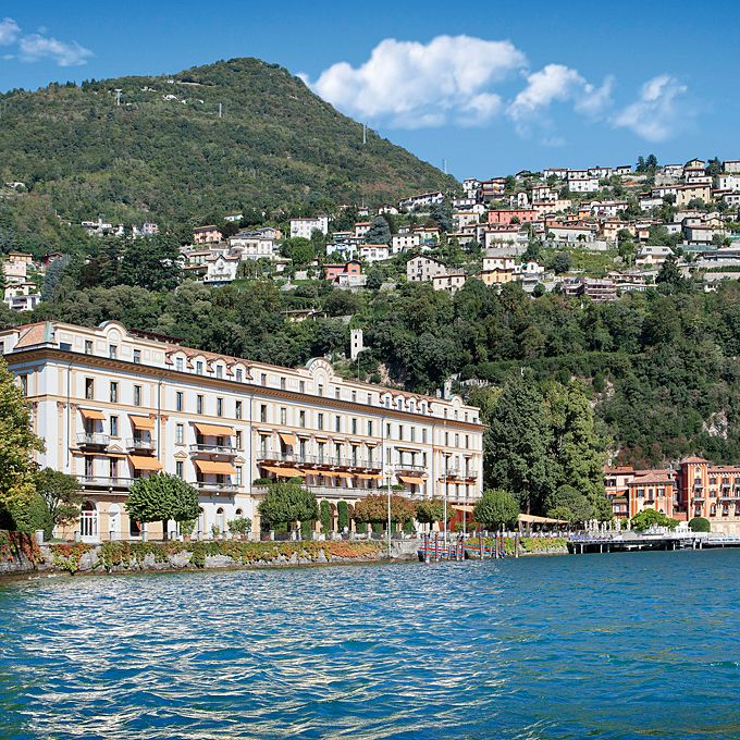 Brides.com: The Best Honeymoon Resorts Around the World. Europe: Villa D'Este, Lake Como, Italy  Just around the corner from George Clooney's vacation house, this 152-room Renaissance palace is pure Italian gorgeousness, with terraced gardens, dining on the veranda, and that iconic floating pool. How romantic is it? Rumor has it Brad and Angelina considered getting married here.  From $660; Villa D'Este