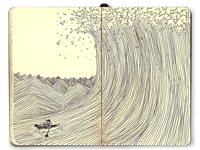 Somethink Fun: Moleskine Line Series: Wave