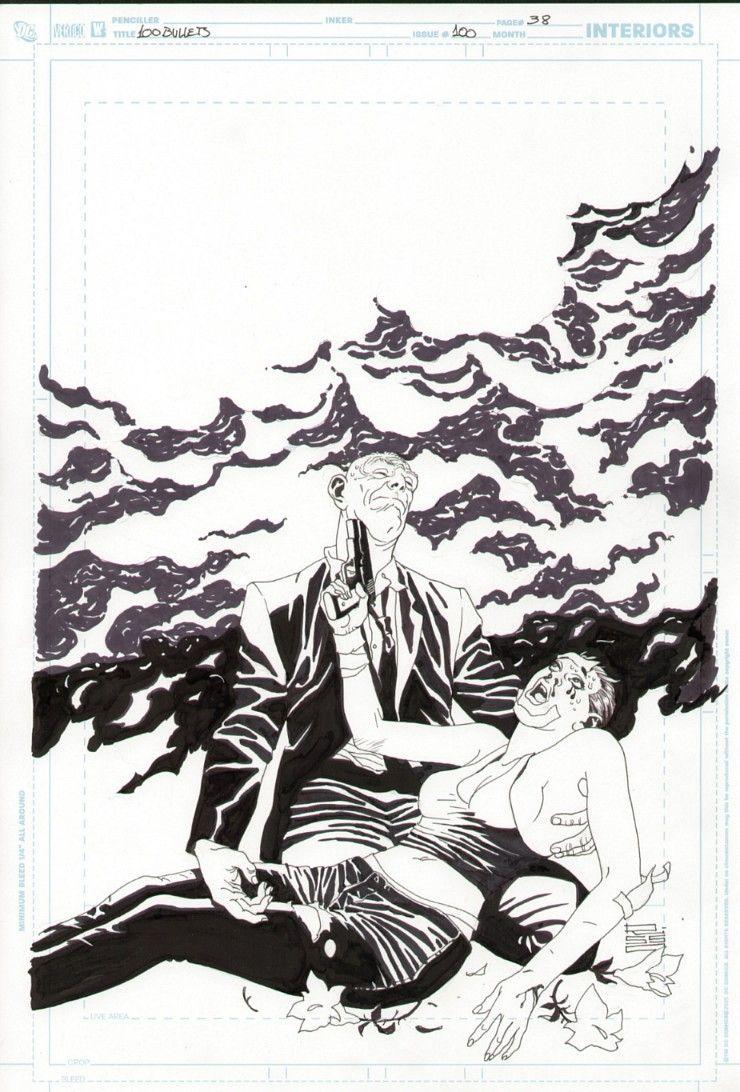 100 Bullets #100 page 38 - Eduardo Risso Comic Art