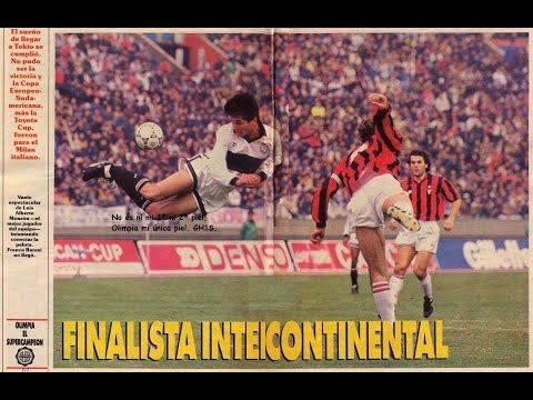 AC Milan 3 Olimpia 0 in Dec 1990 in Tokyo. Spectacular action from the  Intercontinental b4c877544fd85