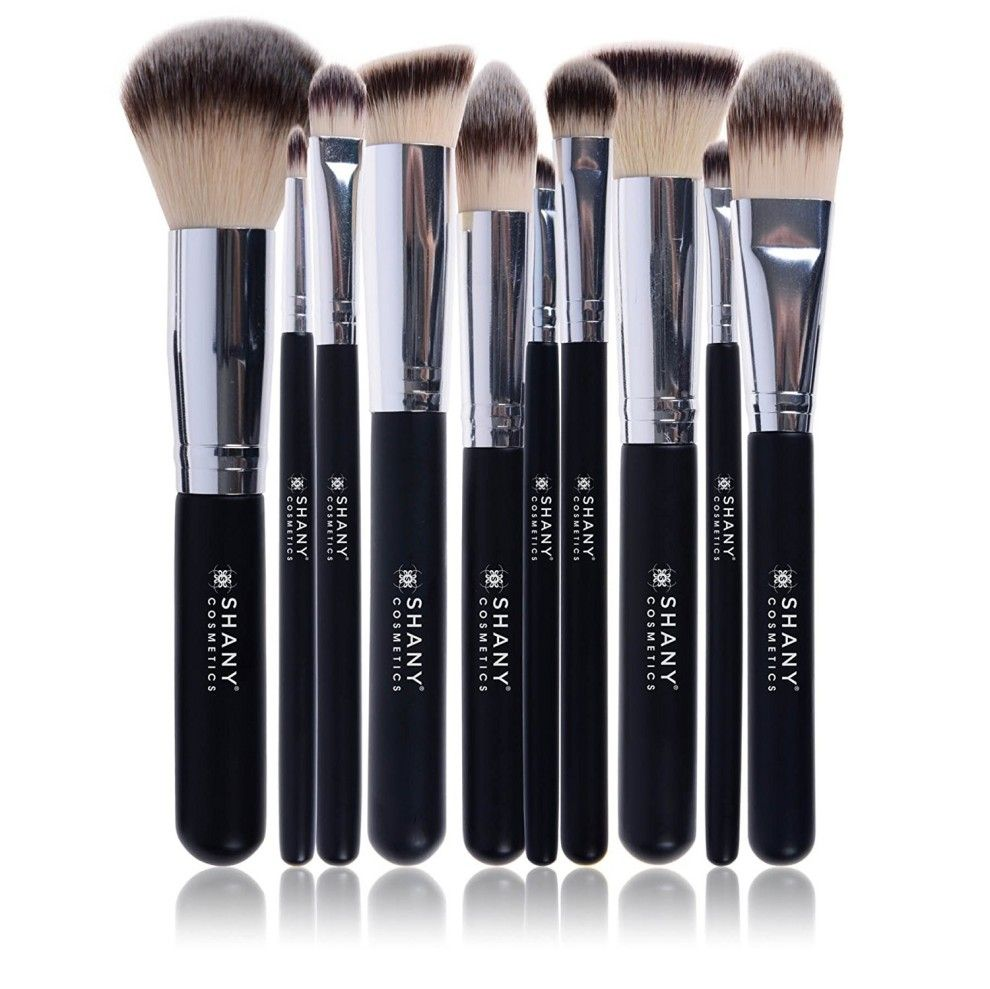 Crueltyfree synthetic brushes perfect for your caring