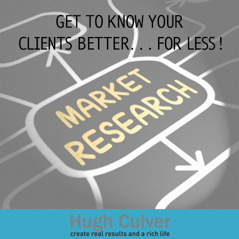 Market research is an essential part of any business strategy. It's a way for us entrepreneurs to get to know our clients better; get ideas on how we can improve products and services and gather customer feedback among many other things. And do you know that market research doesn't have to be expensive? Yes, you can make it cheap, effective and fast! Visit my blog and I'll tell you how! Original Photo: Freedigitalphotos.net | Stuart Miles
