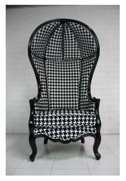 10x10 Bedroom Layout Ikea: Houndstooth Chair (With Images)