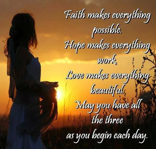 Inspirational Quotes About Faith And Love Delectable May The Power Of Faith Love And Hope Be Forever Yours Vinesh