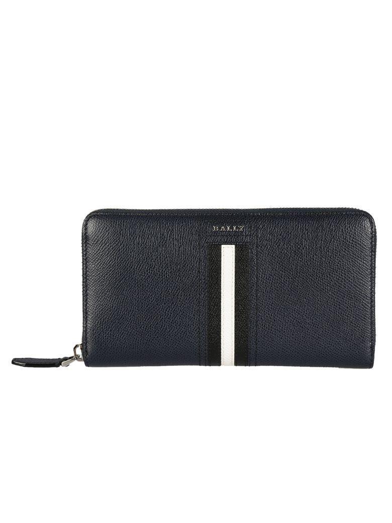 zip around logo wallet - Black Bally xeMZRBUu3