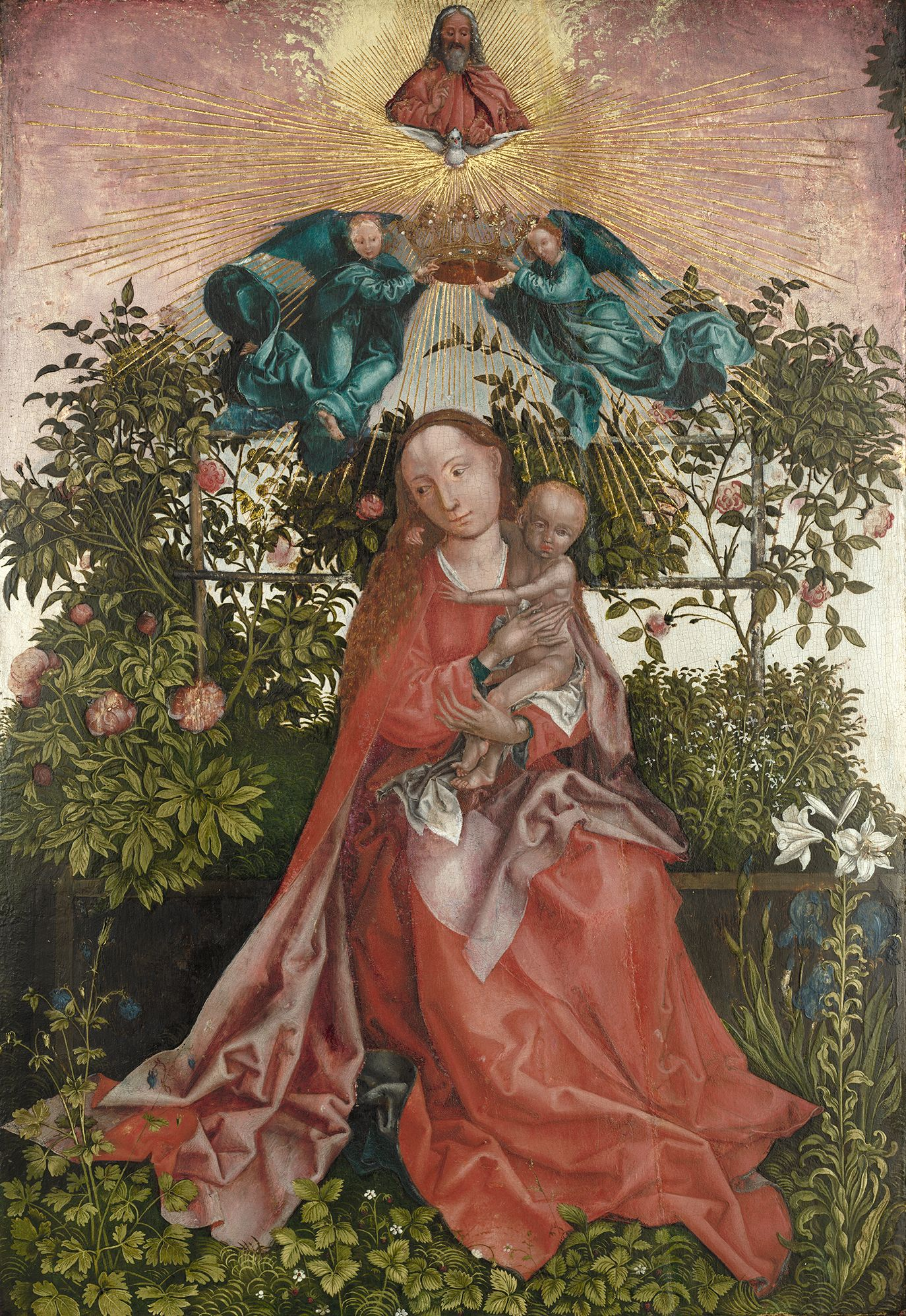 The Virgin And Child Of The Rose Bower Isabella Stewart Gardner Museum Madonna And Child Renaissance Paintings Gardner Museum