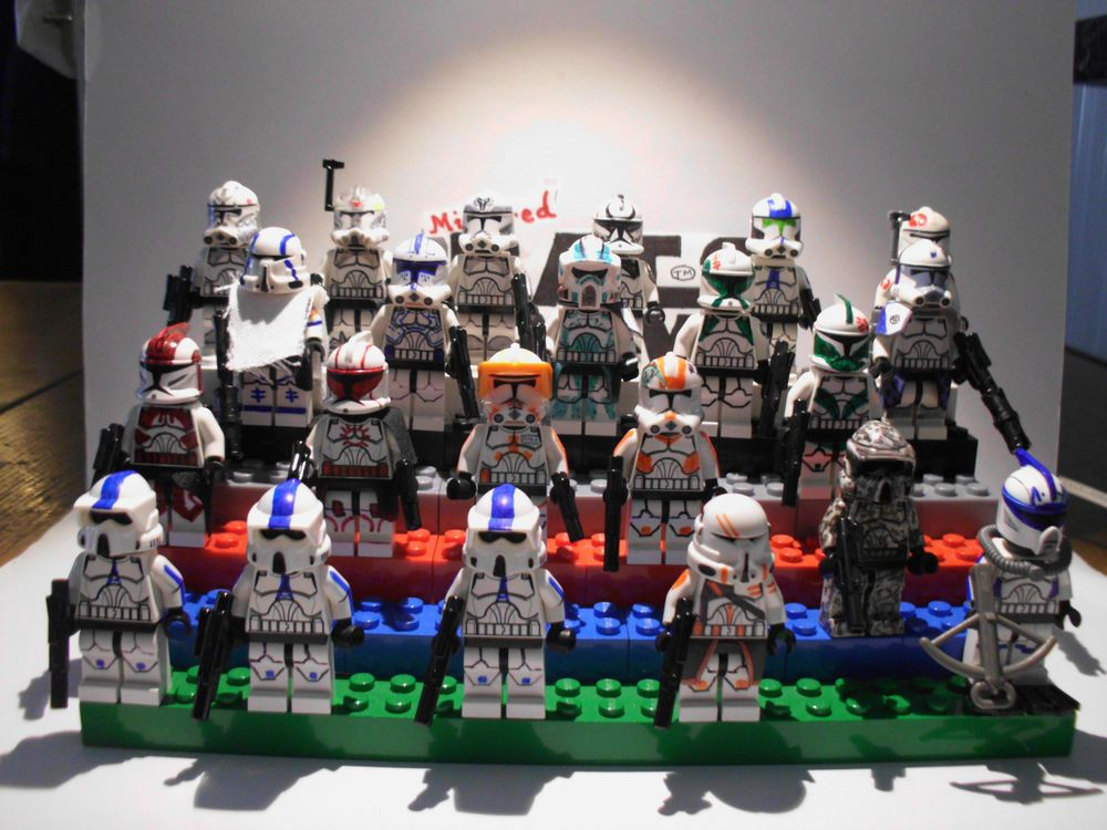 Lego Star Wars minifigures - Clone Custom SUMMER SPECIAL ONE OFF ...