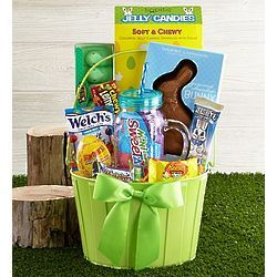 Favorite easter basket with harry london bunny easter gifts favorite easter basket with harry london bunny negle Image collections