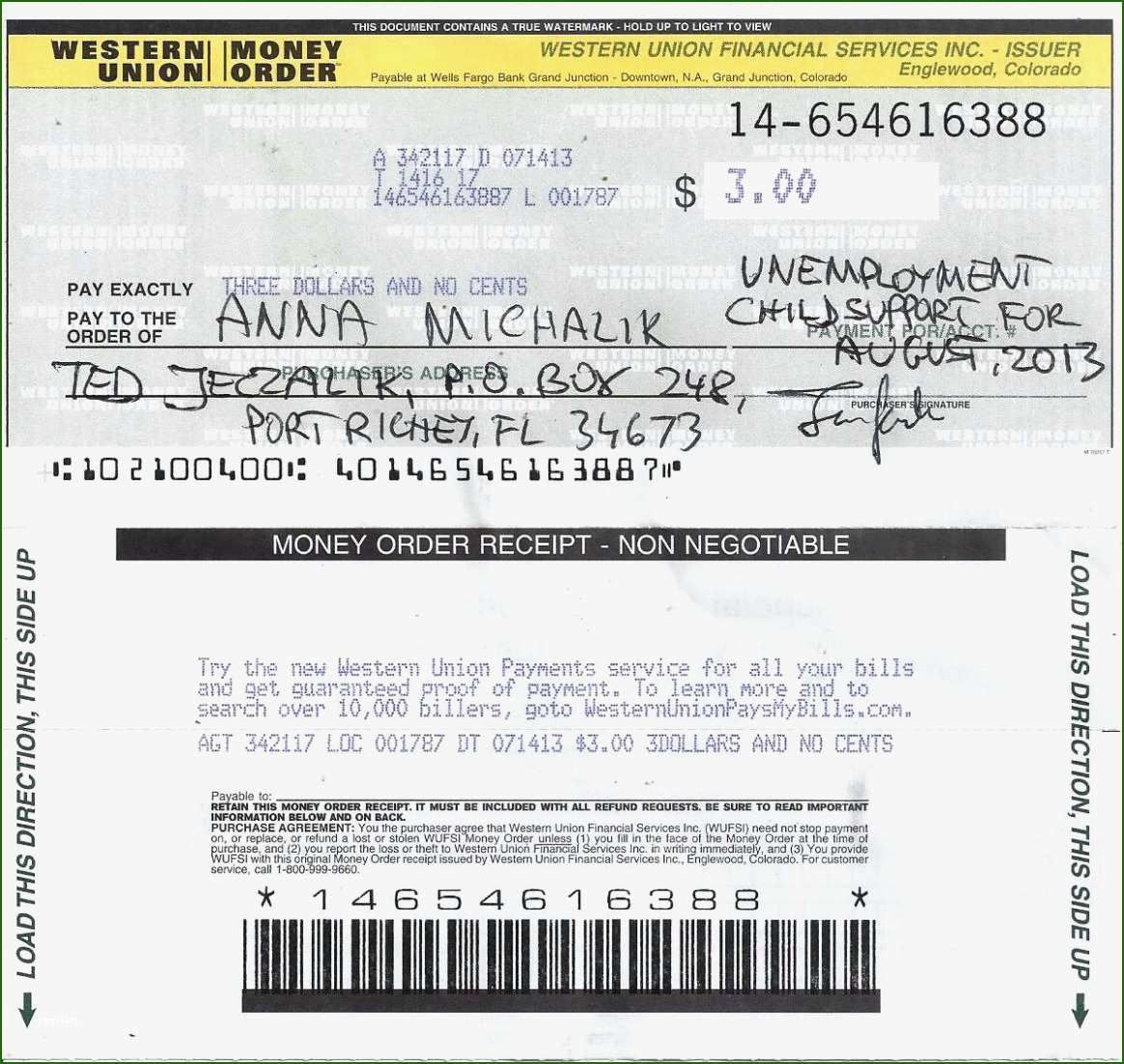 15 Foolproof Western Union Money Order Template That Will Wow You Contract Template Templates List Of Jobs