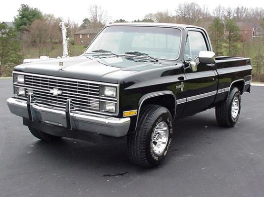 1984 Chevy Silverado 4x4 With Images Classic Cars Muscle 1984