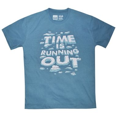 Camiseta masculina TIME IS RUNNING OUT  e26d109b424