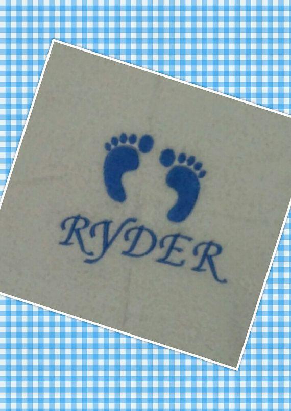 Personalized baby gift newborn gift footprint by ppbabyboutique personalized baby gift newborn gift footprint by ppbabyboutique negle Image collections