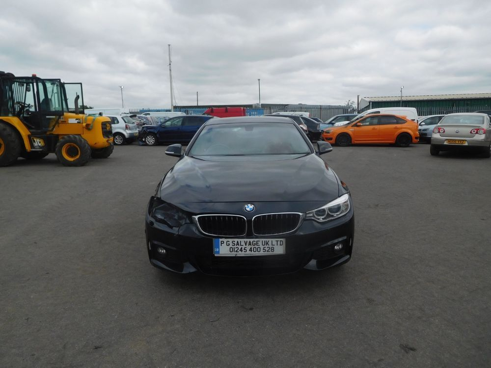 eBay 2013 (63) BMW 420D M SPORT 2.0 DIESEL AUTOMATIC