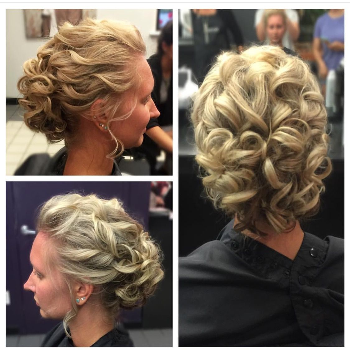Bridal Updo By Katherine At Our Brookfield Salon Our Stylists