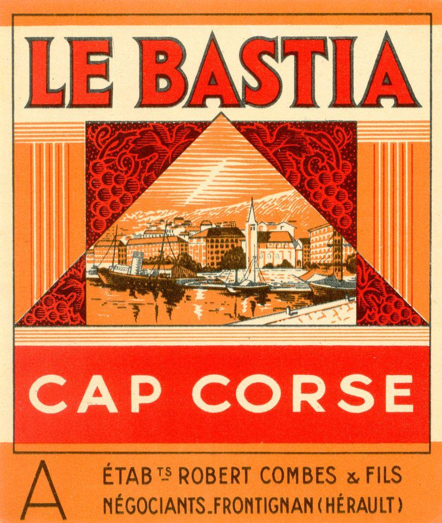 Bastia Bastia Vintage Ads Vintage Labels