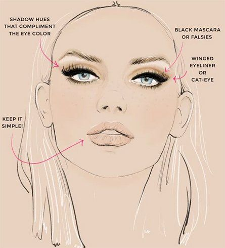 8 top makeup tips for oval face  oval face makeup face