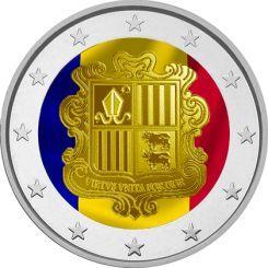 2 euros in Color Andorra 2015
