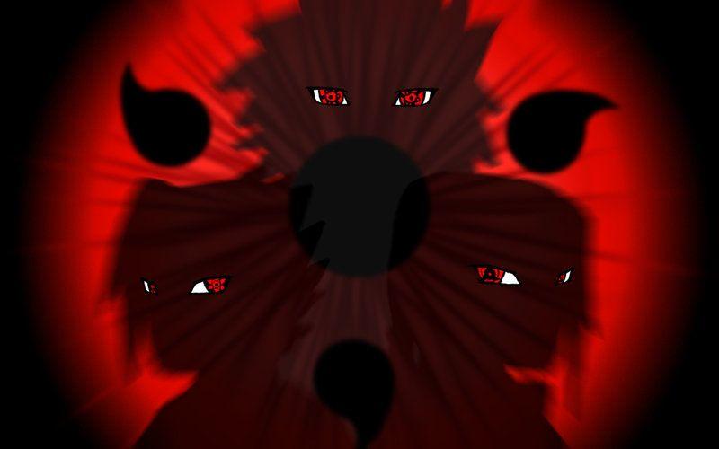 Mangekyou Sharingan Fotos de flamengo, Desenho de anime