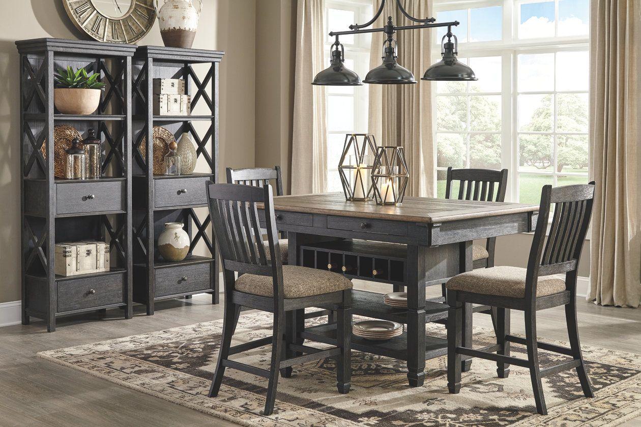 Tyler Creek Display Cabinet Ashley Furniture Homestore