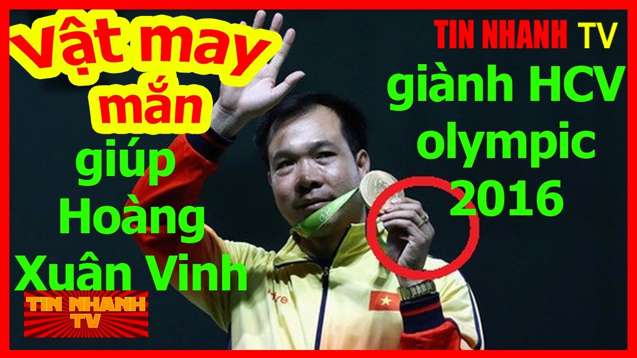 Tiết lộ vật may mắn không rời của Hoàng Xuân Vinh để đạt huy chương vàng...