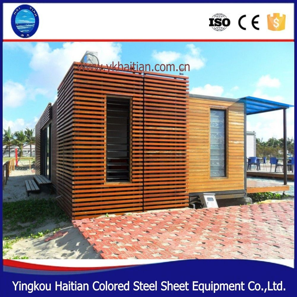 Modular Living Folding Shipping Prefabricated Wooden House