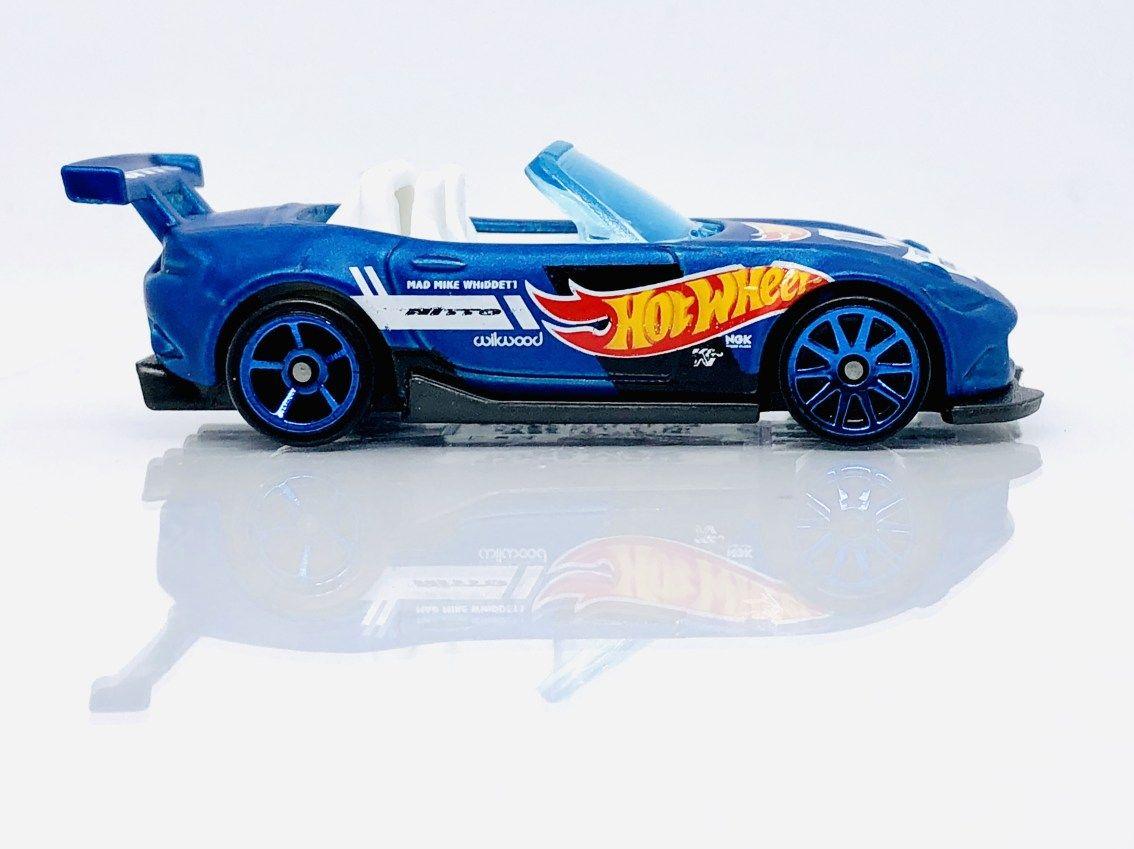 Hot Wheels Mazda Miata Mx5 Diecastgraphy Hot Wheels Mazda Biru
