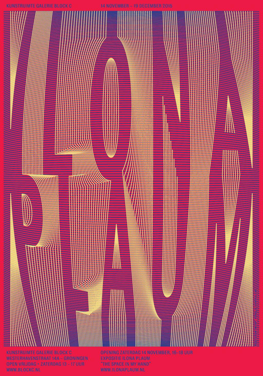 Galerie Block C Poster for Ilona Plaum - www.hansje.net