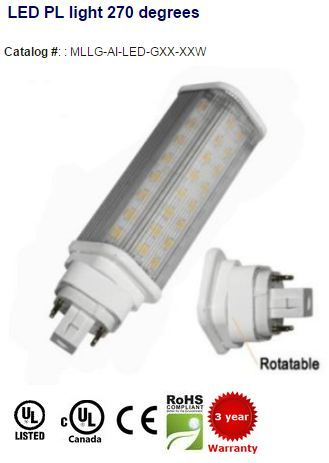 G24 Led Retrofit Pl Lamp Ul Listed Led G24 Led Led Lights Light