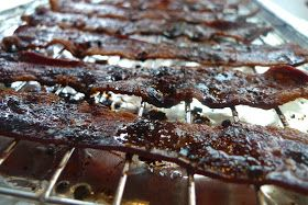 siriously delicious: Brown Sugar Peppered Bacon