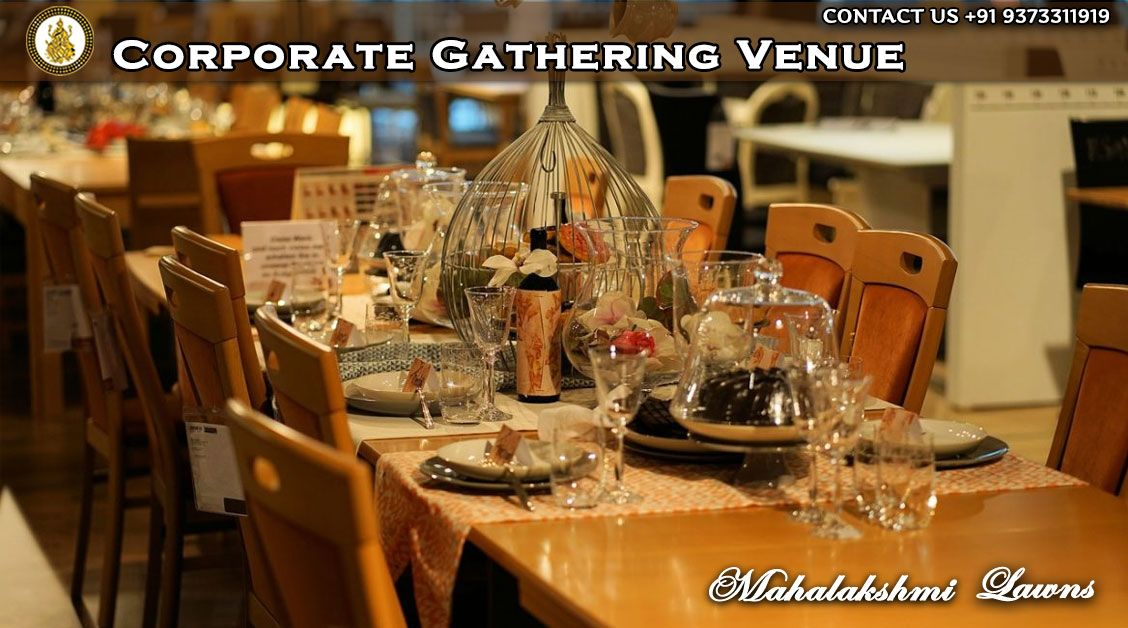 Corporate Gatherings describes private events held by