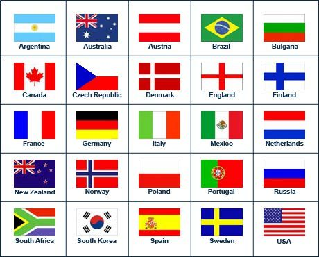 Pin On Flags With Names