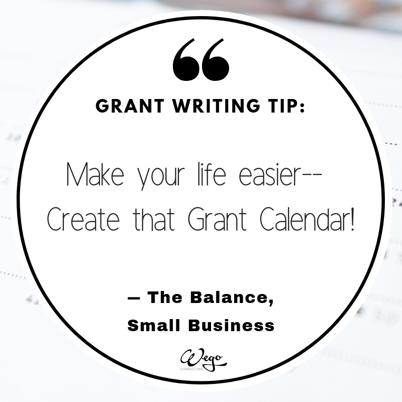 Grant writing is not for the faint of heart! Creating a