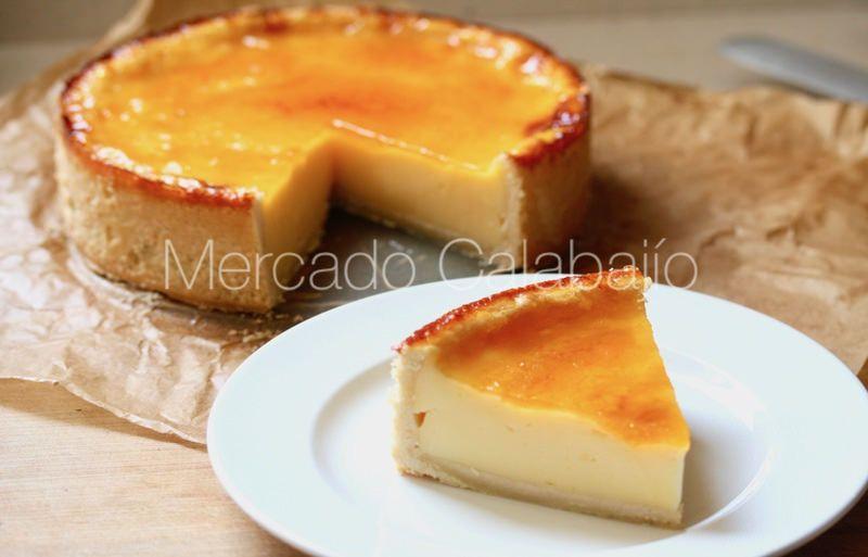 Receta De Flan Pâtissier A Nuestra Manera Mercado Calabajío Recetas Faciles Postres Flanes Recetas Tartas