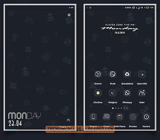 15 Tema Xiaomi Tembus Semua Aplikasi Mtz Whatsapp Wa Bbm Line Instagram 2018 Aplikasi Desain Seni