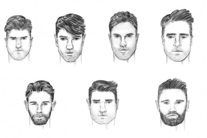 Gesichtsformen Und Frisuren Manner Mann Frisur Ideen Jawline Men