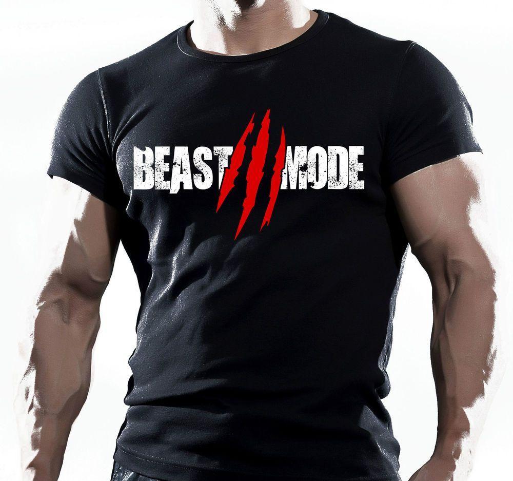 Beast Mens Workout Shirt Gym Shirt Fitness Shirt Workout Clothes Fitness Apparel
