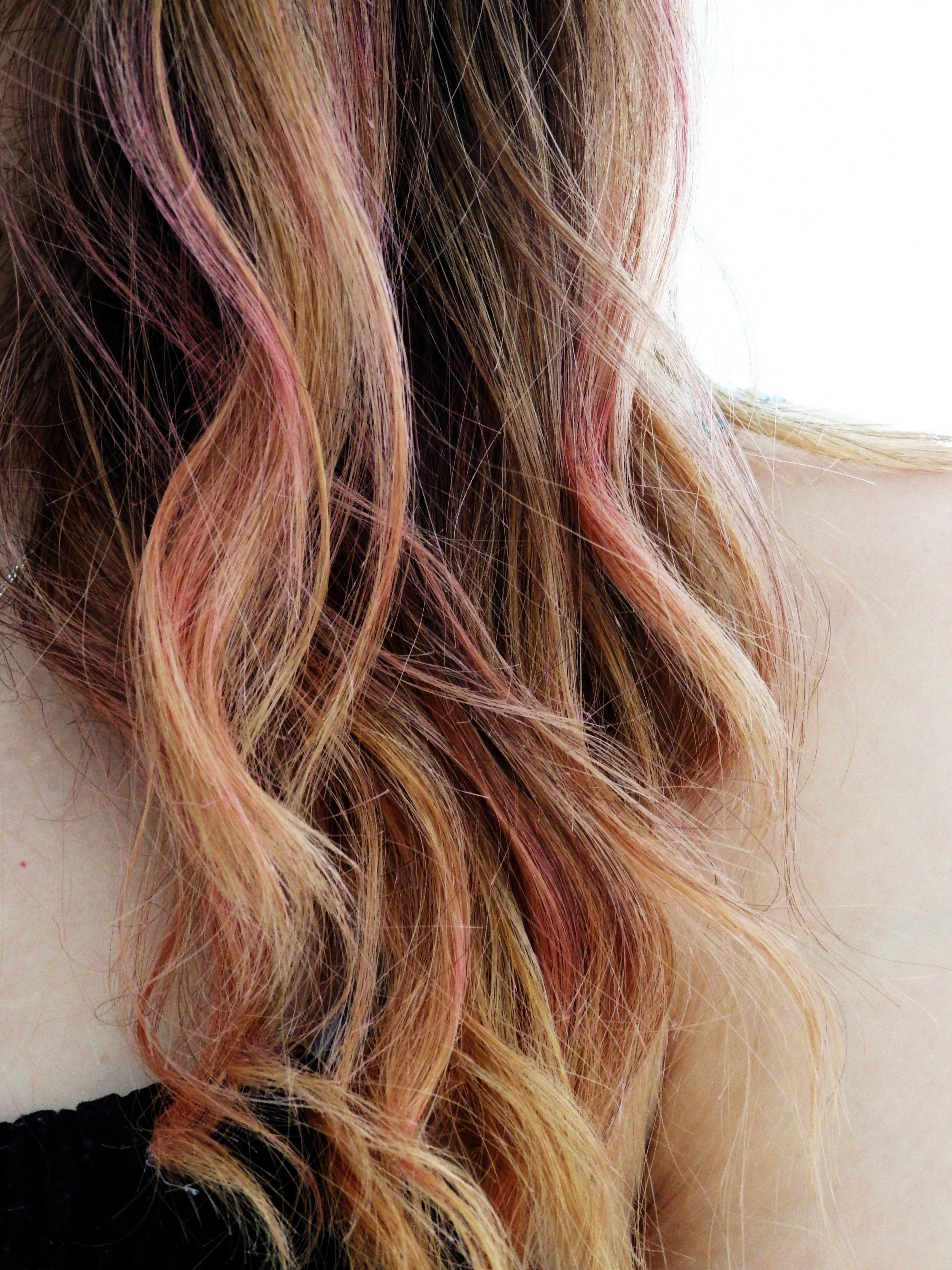 Brown Hair With Pink Underneath Google Search Hair Color
