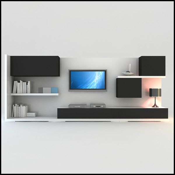 Lcd Wall Unit Design For Bedroom : Tv wall unit for the home walls tvs