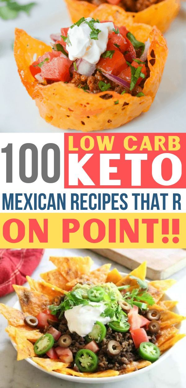 Keto Mexican Food: 100+ Easy Low Carb Mexican Recipes - Savvy Honey #mexicandishes