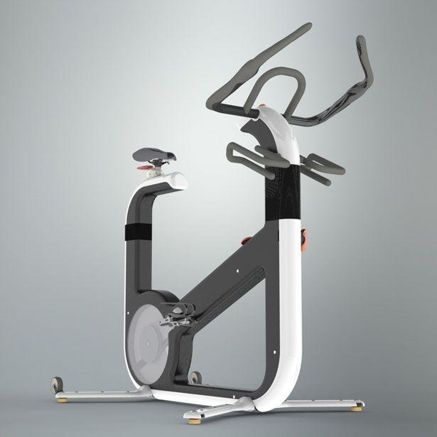 The Inside Track On Powerlifting Tactics: U'Bike : Modern Exercise Bike Design That Tracks Your