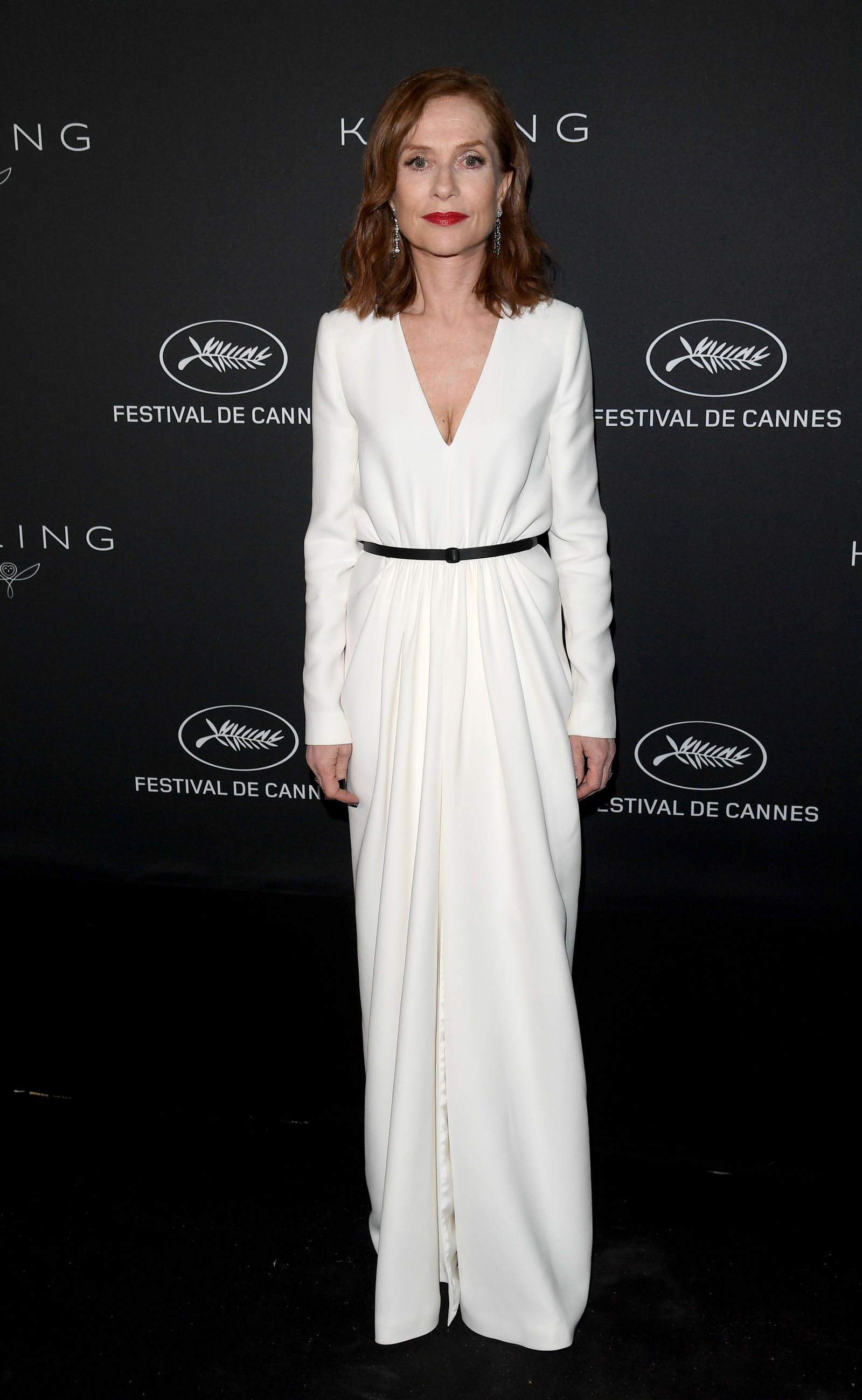 Isabelle Huppert. The Best Dressed Celebrities at Cannes Film Festival 2017