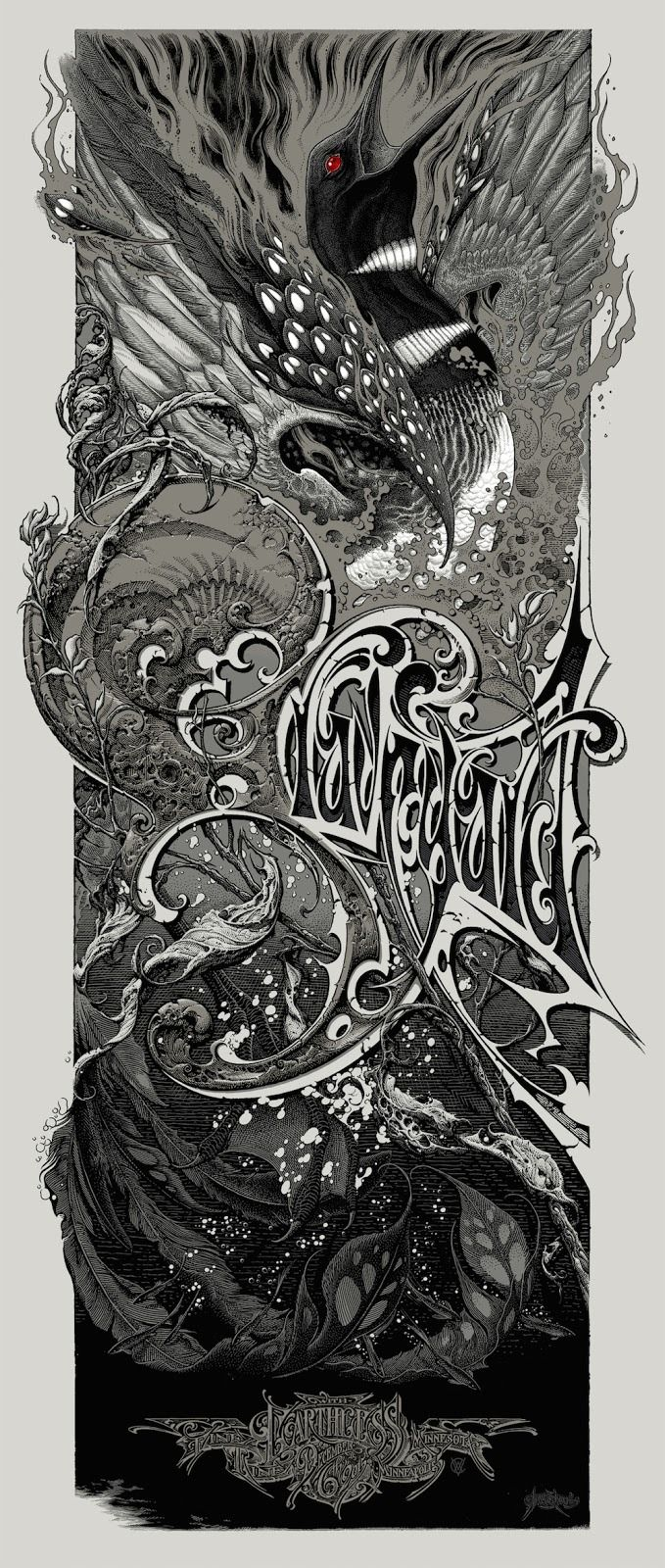 Graveyard Poster by Aaron Horkey and Brandon Holt (Onsale Info)