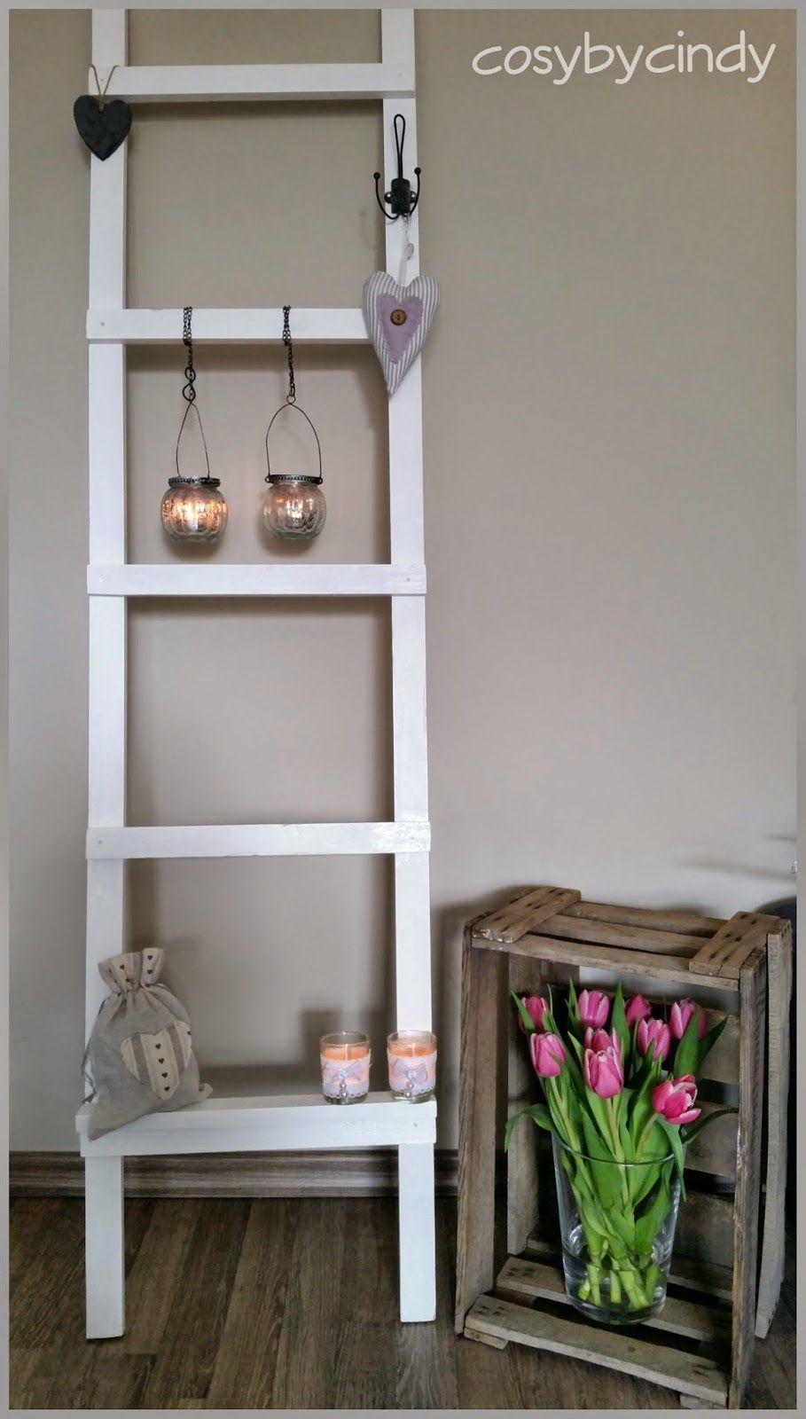 Ongekend Decoratie ladder voor in huis (met afbeeldingen)   Woonkamer CG-09