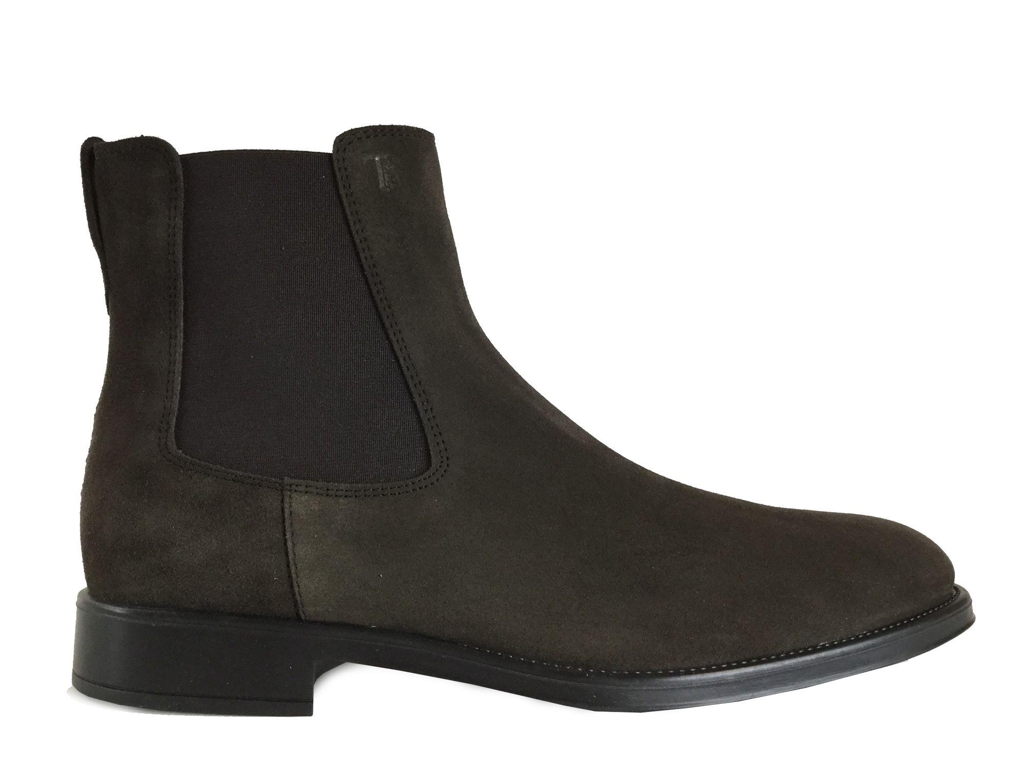 nubuck en Tod's Boots chocolatCollection Baston AH 16 N0v8nmwO