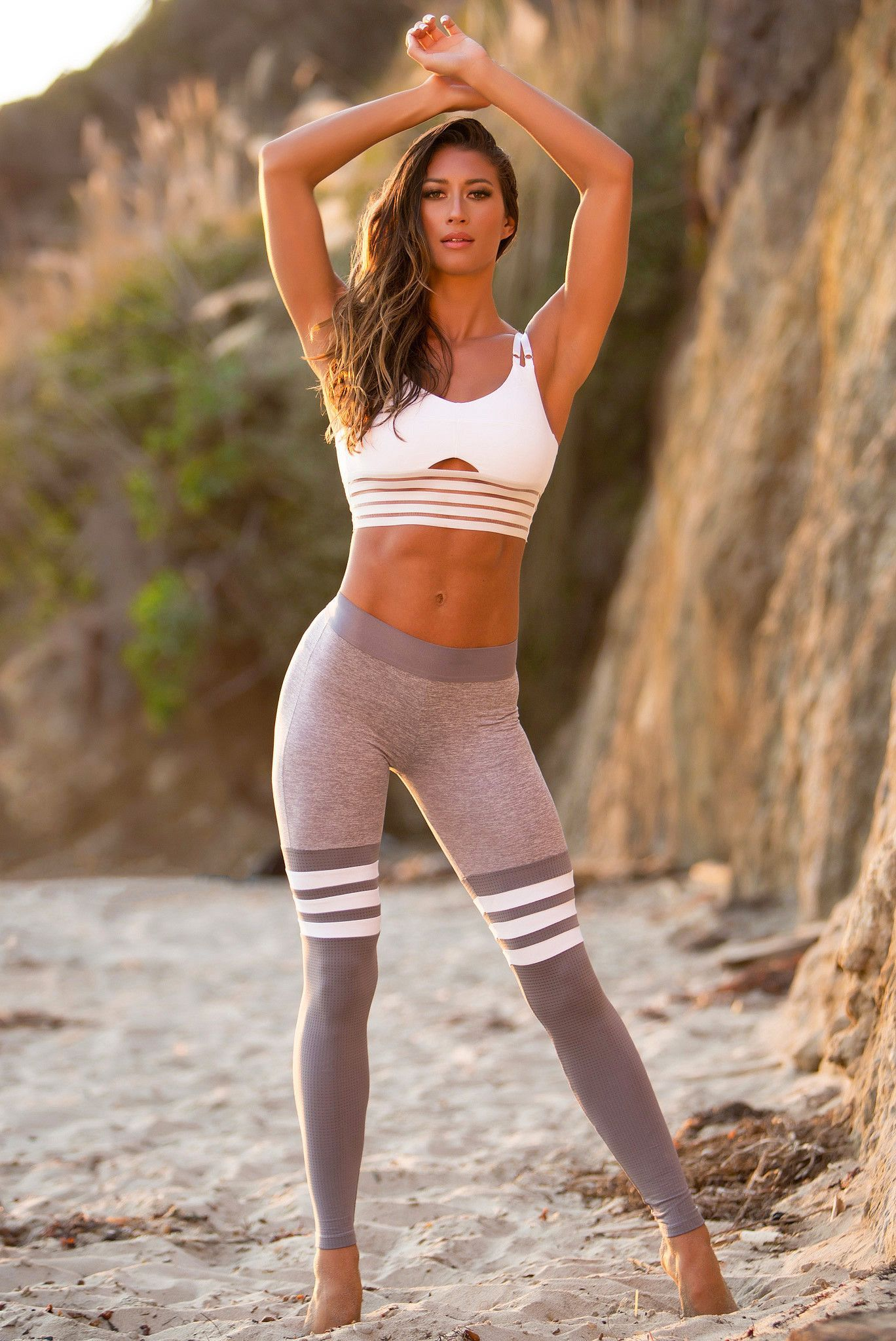 19c6ba79fb The sexy athletic leggings really make the difference to your gym workout  and sporty moves. Find most excellent leggings those complements your sexy  and ...