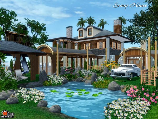 TSR Srovy Compact House By Autaki