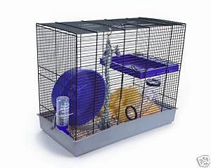 Pennine Rat Starter Kit Or Large Hamster Cage With Tube Platform Large Wheel Large Hamster Cages Online Pet Store Hamster Cage